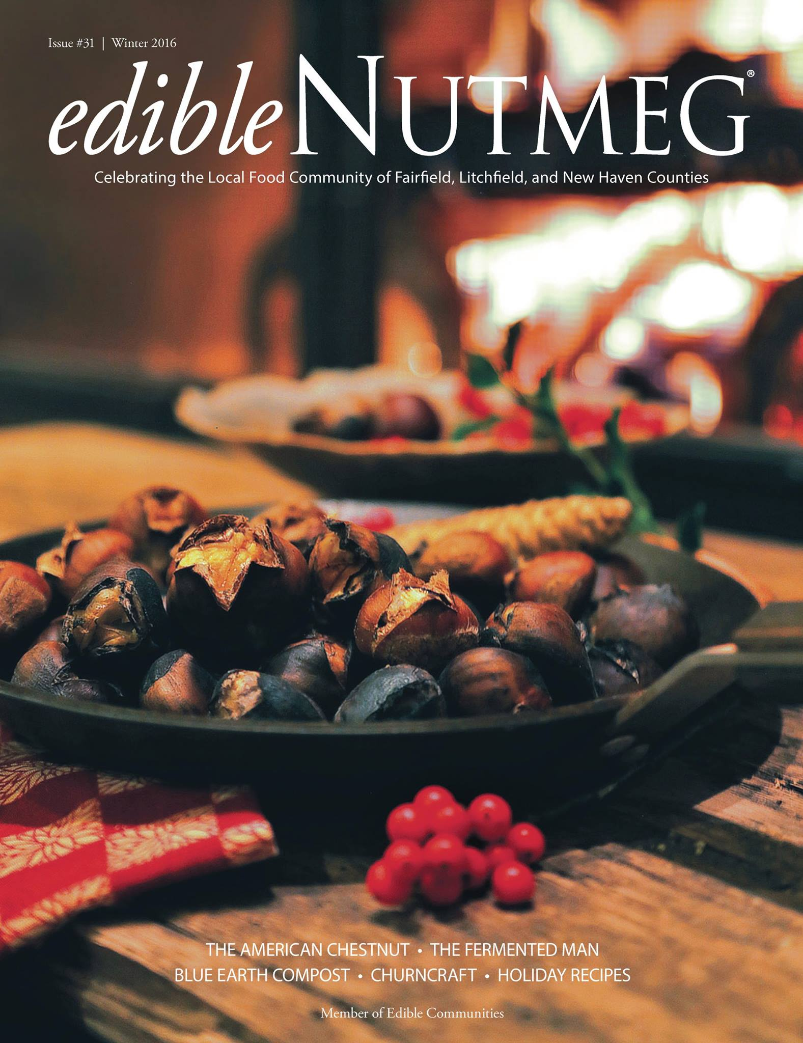 Edible Nutmeg Winter Issue