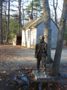 Recreation of Thoreau's Cabin | Walden Pond | 2011 L.M. Browning