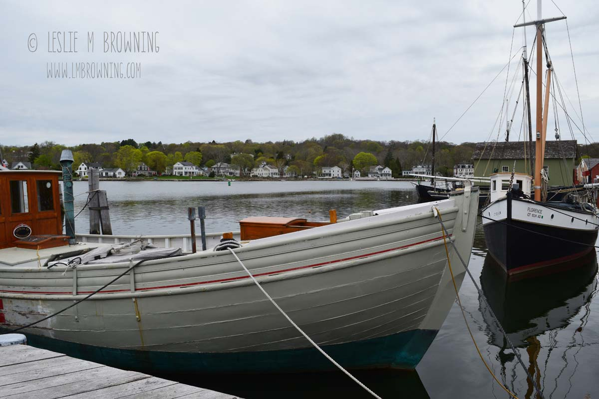 Along the Mystic River, Mystic, CT | May 6, 2015