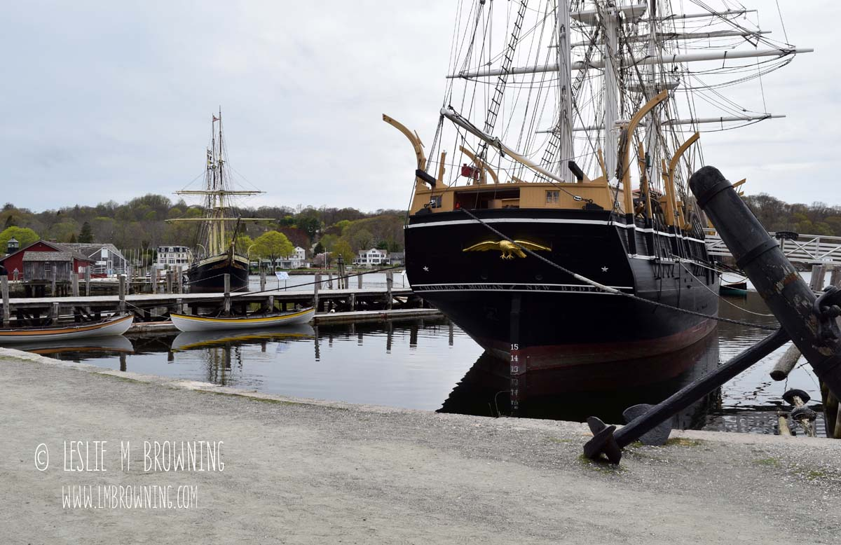 Charles W. Morgan | Mystic Seaport, Mystic, CT | May 6, 2015